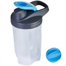 Фитнес-бутылка  Contigo Fitness Protein shakers Blue 590 ml