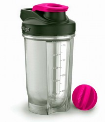 Фитнес-бутылка  Contigo Fitness Protein shakers Pink 590 ml