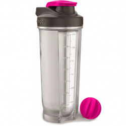 Фитнес-бутылка Contigo Shake and Go Fit Pink 820 ml